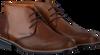 Cognacfarbene VAN LIER Business Schuhe 1955631  - small