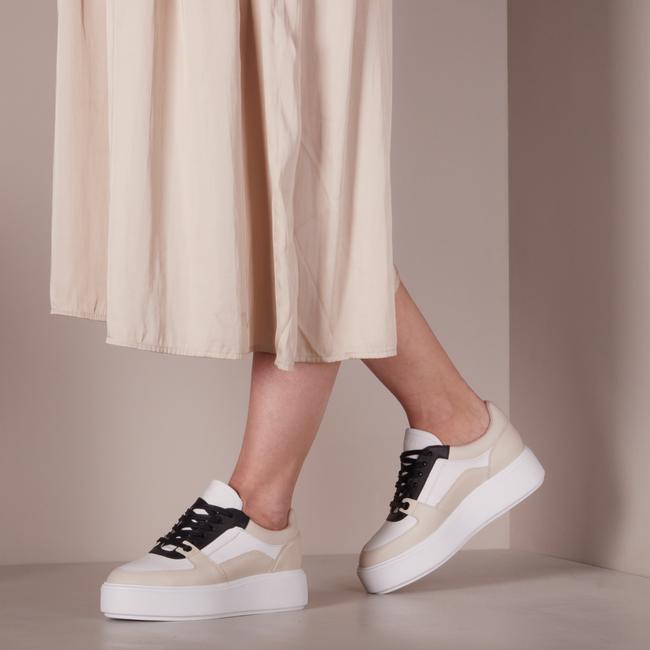 Weiße NUBIKK Sneaker low ELISE BLOOM  - large