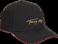 Schwarze TOMMY HILFIGER Kappe SIGNATURE CAP  - medium