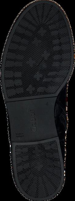 Schwarze GABOR Schnürstiefel 91.660 - large