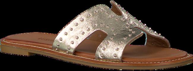 Goldfarbene VERTON Pantolette 10179  - large