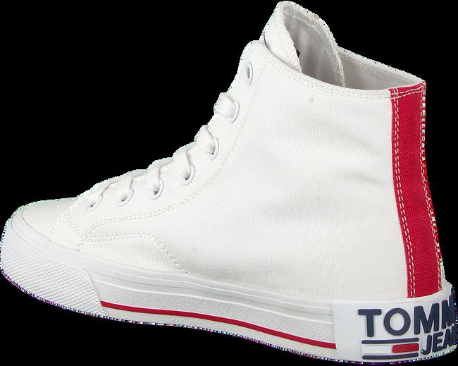 Weiße TOMMY HILFIGER Sneaker high MIDCUT ESSENTIAL  - large