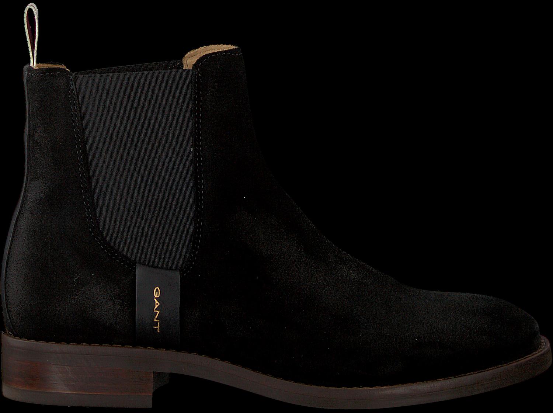 ecad715924f195 Schwarze GANT Chelsea Boots FAY - Omoda.de