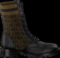 Schwarze NIK & NIK Schnürboots BRANDY JACQUARD BOOTS  - medium