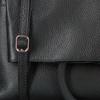 Schwarze UNISA Handtasche ZLILY  - small