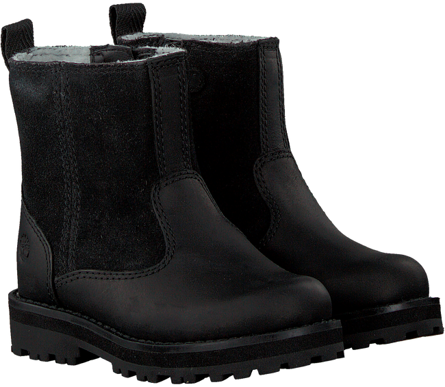 Schwarze TIMBERLAND Ankle Boots COURMA KID WARM LINED BOOT  - large