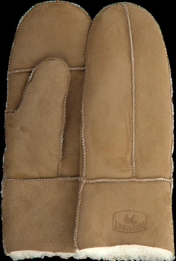 Cognacfarbene WARMBAT Handschuhe MITTEN WOMEN  - larger