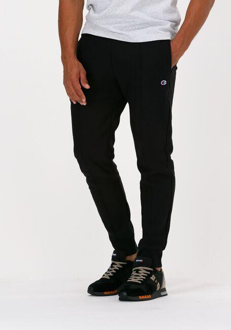 Schwarze CHAMPION Jogginghose RIB CUFF PANTS - large