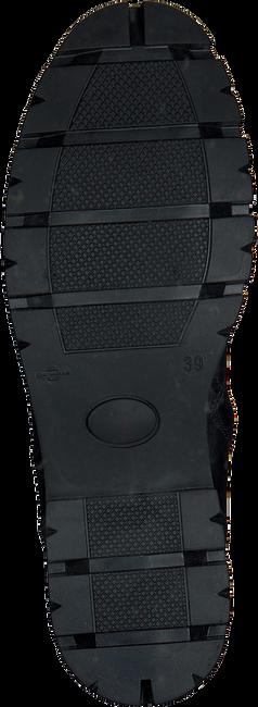 Schwarze GIGA Schnürstiefel 8654 - large