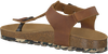 Cognacfarbene DEVELAB Sandalen 48071 - small