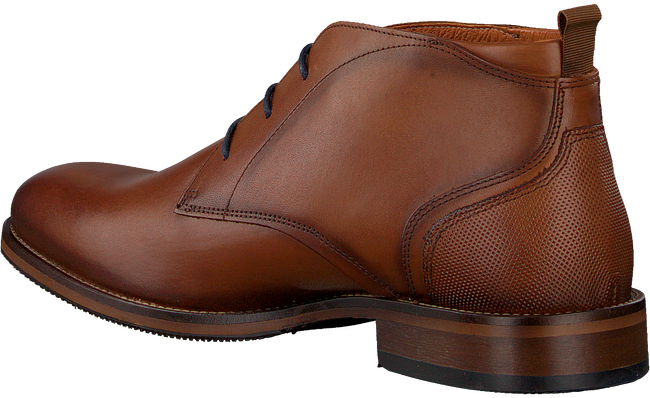 Cognacfarbene VAN LIER Business Schuhe 1959218  - large