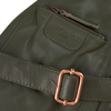 Bronzefarbene EST'SEVEN Umhängetasche EST' LEATHER BAG MIREL  - small