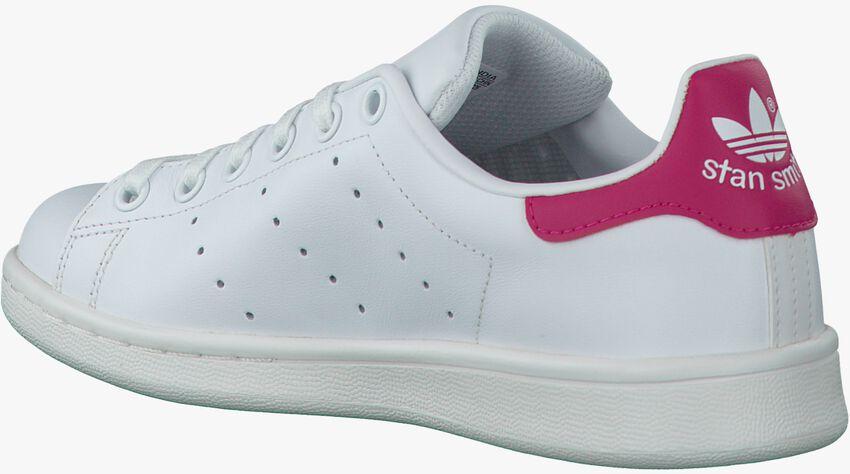 Weiße ADIDAS Sneaker STAN SMITH J - larger