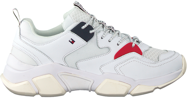Weiße TOMMY HILFIGER Sneaker WMN CHUNKY  - large