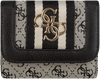 Schwarze GUESS Portemonnaie GUESS VINTAGE SLG SML TRIFOLD  - small