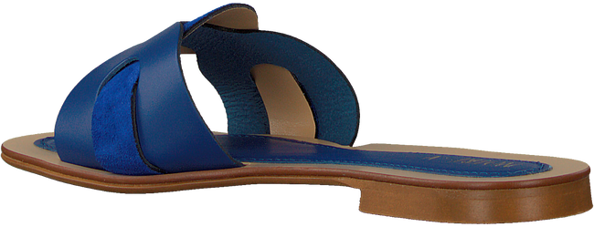 Blaue NOTRE-V Pantolette 18701  - large