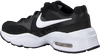 Schwarze NIKE Sneaker low AIR MAX FUSION  - small