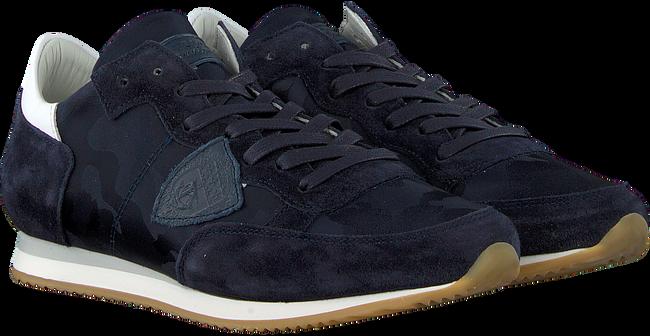 Blaue PHILIPPE MODEL Sneaker TROPEZ CAMOUFLAGE  - large
