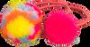 Goldfarbene LE BIG Stirnband SHAY HAIR ELASTICS  - small