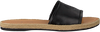 Schwarze TOMMY HILFIGER Pantolette LEATHER FLAT MULE - small
