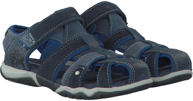 Blaue TIMBERLAND Sandalen PARK HOPPER L/F FISHERMAN KIDS - large