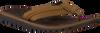 Braune REEF Pantolette VOYAGE LUX  - small