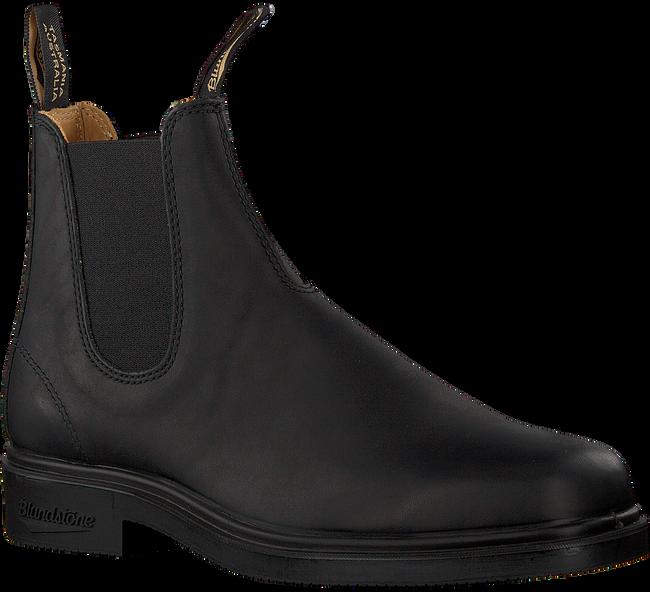 Schwarze BLUNDSTONE Chelsea Boots DRESS BOOT HEREN  - large