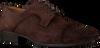 Braune MAZZELTOV Business Schuhe 3817  - small