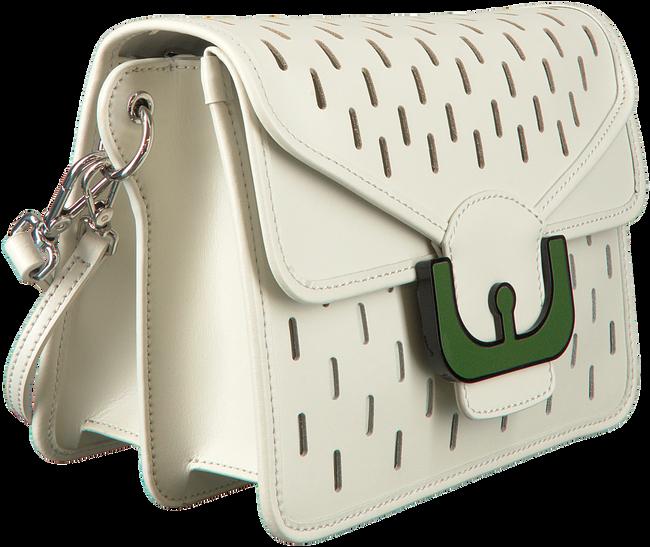 Weiße COCCINELLE Handtasche AMBRINE PERFO  - large