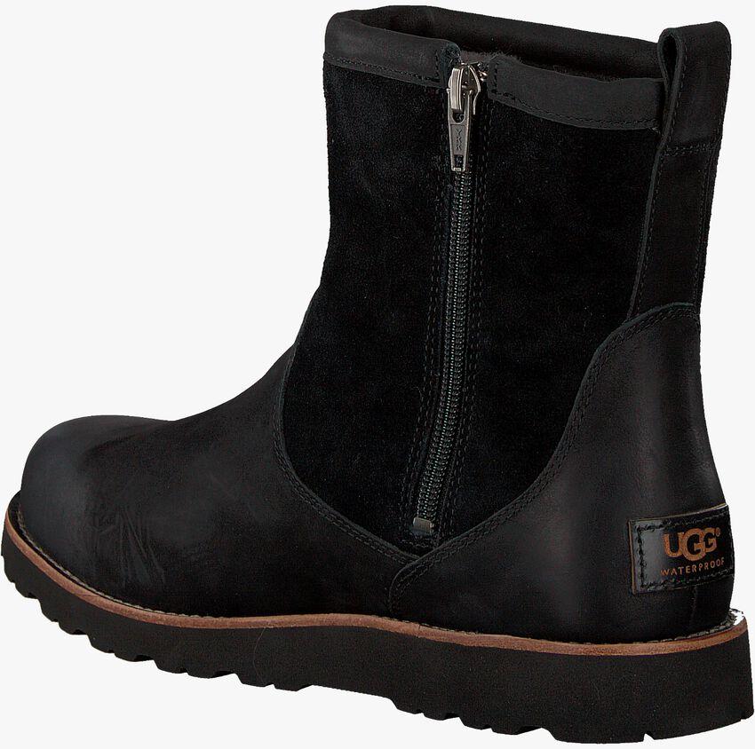 Schwarze UGG Ankle Boots HENDREN  - larger
