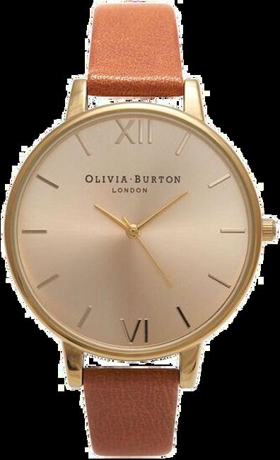 Braune OLIVIA BURTON Uhr BIG DIAL - large