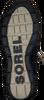 Schwarze SOREL Schnürboots EXPLORER JOAN - small