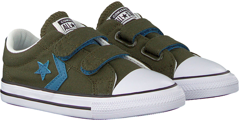 Grüne CONVERSE Sneaker STAR PLAYER 2V OX KIDS | Omoda