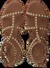 Cognacfarbene ASH Sandalen PRECIOUS  - small