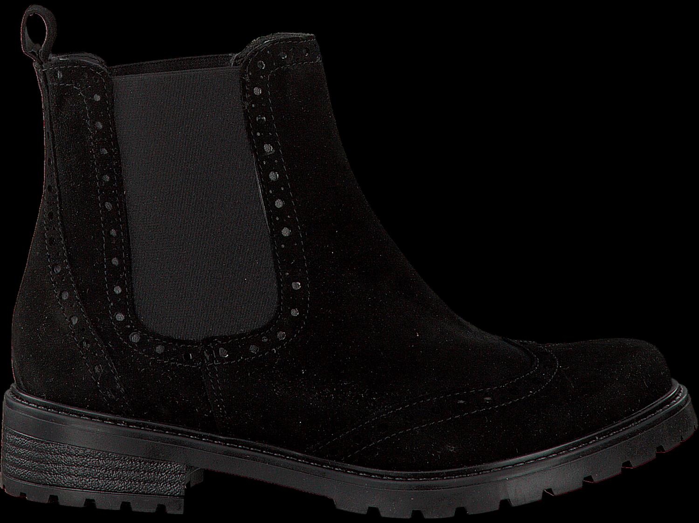 schwarze omoda chelsea boots 2108 schuhmode online. Black Bedroom Furniture Sets. Home Design Ideas