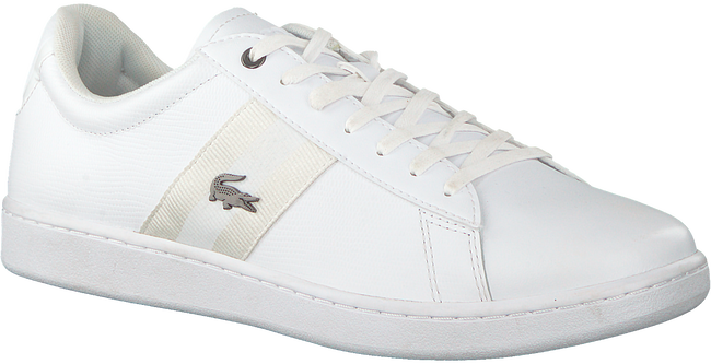 Weiße LACOSTE Sneaker CARNEBY EVO  - large