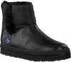 Schwarze UNISA Ankle Boots FLORY_GR_GL - small