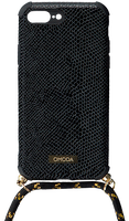Schwarze OMODA ACCESSOIRES Handykette 7+/8+ IPHONE KOORD  - medium