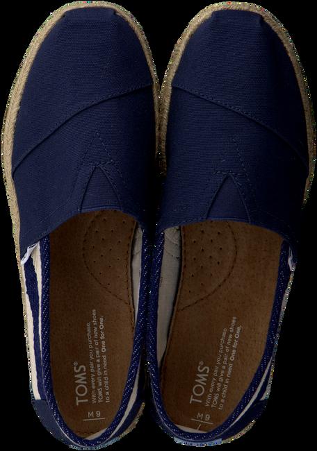 Blaue TOMS Slipper CLASSIC HEREN - large