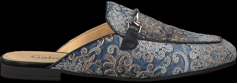 Blaue Gabor Loafer 510 hiwkd
