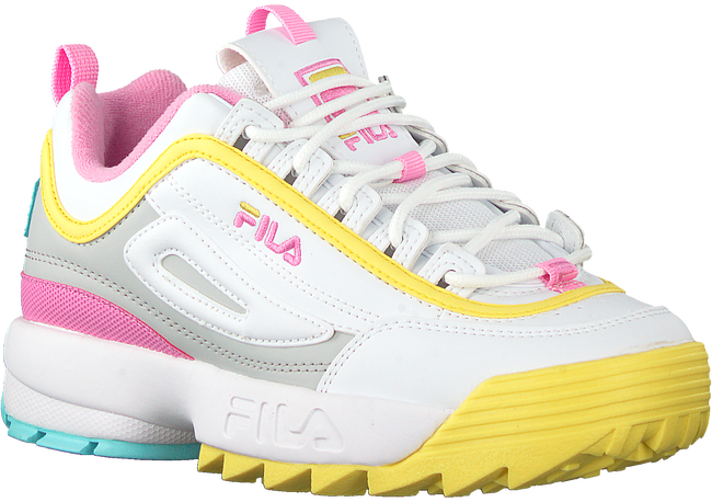 Weiße FILA Sneaker low DISRUPTOR KIDS  - large
