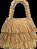 Beige BECKSONDERGAARD Handtasche FRINGE KULLU BAG  - small