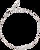 Silberne ALLTHELUCKINTHEWORLD Armband ELEMENTS BRACELET TRIANGLE BAR - small