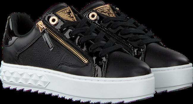 Schwarze GUESS Sneaker low FIGGI  - large