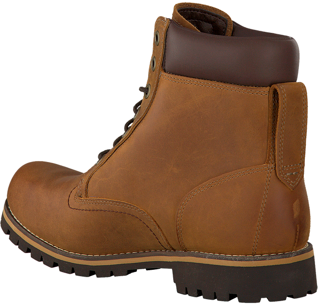 Braune TIMBERLAND Ankle Boots EK RUGWP 6 BTP RED B MED - large