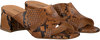 Cognacfarbene NOTRE-V Mules 1918  - small