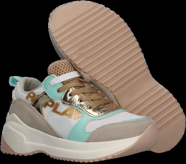 Weiße REPLAY Sneaker low SMART  - large