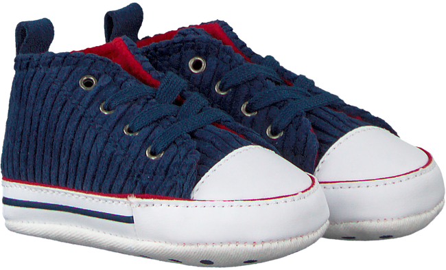 Blaue CONVERSE Babyschuhe CHUCK TAYLOR ALL STAR FIRST ST - large