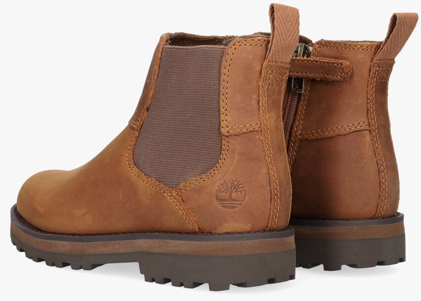 Braune TIMBERLAND Chelsea Boots COURMA KID  - larger