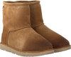 Cognacfarbene UGG Ankle Boots CLASSIC TOGGLE WATERPROOF - small